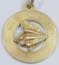14K Gold KEY WEST SEASHELL Charm Rembrandt Company 1.9grams
