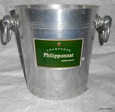 French vintage Philipponnat champagne ice bucket