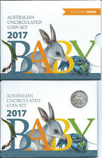 2017 RAM Six Coin Uncirculated Baby Mint Set:Alphabet Coin Collection
