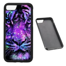 Neon Tiger RUBBER phone case Fits iPhone