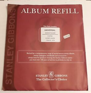 3574 Brand New Stanley Gibbons SG Universal Booklet Album - 5 Strips 5 Pages