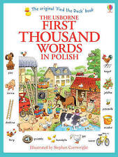 First Thousand Words in Polish by Heather Amery (Paperback, 2013)