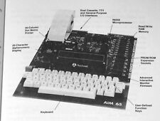 1979 Rockwell AIM 65 Single Board Computer Applications KIM-1 Synertek SYM-1