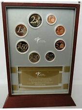 Netherlands Proof Set Euro Coins 2001 1cent To 2€ New With CoA KMS