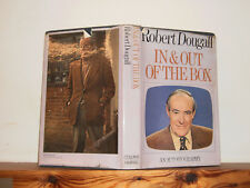 In and Out of the Box by Robert Dougall (HB in Dw 1973) signed by author BBC