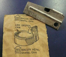 Military Vietnam era can opener p38 Genuine NOS (LOT of 2 openers)
