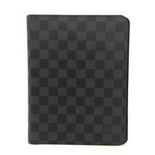 Louis Vuitton Damier Graphite Agenda De Bureau Notebook Cover /60412