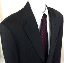Brooks Brothers 346 Men's 40L Gray Stripe 2-Button Blazer Sport/Suit Coat/Jacket