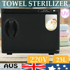 23l Hot Towel Sterilizer Warmer Cabinet Heater Disinfection Salon Beauty Tool AU