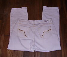 Womens Capris Size 10 - Z Cavaricci LR Stretch Beige