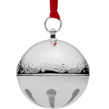 Wallace Annual Silver Plate 2020 Sleigh Bell Ornament 50th. Anniversary Edition