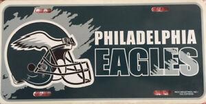 NFL NFC EAST PHILADELPHIA EAGLES BIRDS FRONT PLASTIC LICENSE PLATE