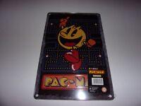 Pac Man - Tin Sign / 8 x 12 / Arcade / Game Room / New