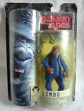 PLANET OF THE APES LIMBO FIGURE WITH SHACKLES & CAPTURE STAFF
