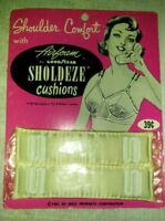 Vintage 1960's SHOLDEZE bra CUSHIONS, By Goodyear & Mills Products Corp.