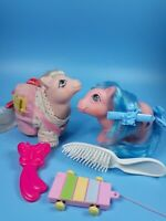 My Little Pony Vintage Baby Cotton Candy & Firefly Pony Wear & Accessories