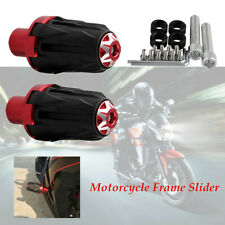 1Pair Motorcycle stainless steel 10MM Frame Slider Engine Protector Ground Crash