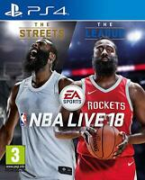 NBA Live 18 PS4 Playstation 4 **FREE UK POSTAGE!!**