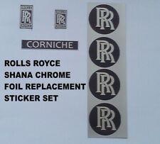 Tri-ang Vintage Shana Rolls Royce Corniche Pedal Car Graphics set