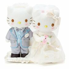 Sanrio Hello Kitty & Dear Daniel Wedding Doll (Pearl) Japan new .