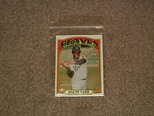 1972 Topps Ralph Garr Braves Baseball Card #260 (Sports, Collectible, EXMINT)