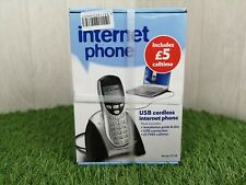 Tesco Internet Phone - USB cordless internet phone/ Includes £5 call time Sealed