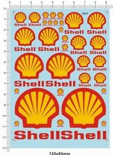 1/18 1/12 1/24 1/20 1/43 decals Shell