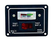 Schalttafel Batterieanzeige Batterietester 2 Batterien