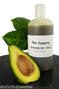 Avocado Oil Virgin 100ml - 1 litre Cold Pressed Pure Massage Carrier Body Oil