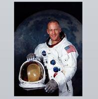 Buzz Aldrin Apollo 11 PHOTO, MOON MISSION Space Walk Astronaut Moon Landing
