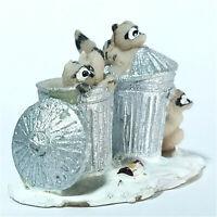 Lemax 2004 Trash Bandits Coventry Cove Village #42878 Collectible Rare Figurine