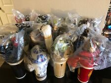 Star Wars Phantom Menace Lid Toppers & Cups All 12 Brand New Unopened