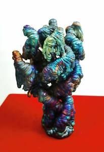 Leklai Suriyan Racha Rainbow Naga dragon Thai amulet buddha Stone Lp Somporn