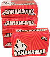 Banana Wax Tropical Surf Wax 5 Pack