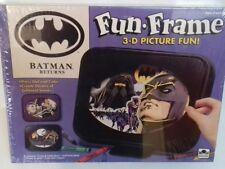 BATMAN - Batman Returns Movie Fun Frame 3D Picture Fun Game Sealed 1992 Vintage