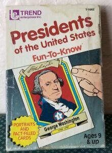 Trend Presidents of the United States Fun To Know Flash Cards