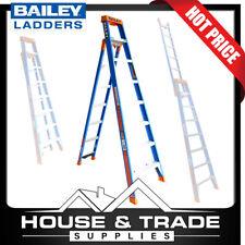 Fibreglass Ladder 2.4 Metres Multipurpose Step/leaning/straight Bailey FS13886