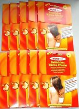 10 Stück Wundmed Wärmepflaster 13cm x 9,5cm bis zu 8 Stunden Wärme Therapie