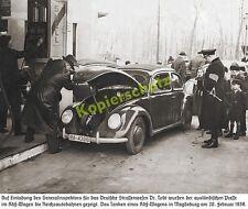 Vw beetle spécial modèle IIIA - 43010 riche autoroute Magdeburg shell station service 1939!