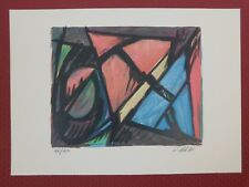 Lithografie Jacques Poli - Composition II