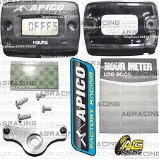 Apico Wireless Hour Meter With Bracket For KTM EXC 380 1990-2016 90-16 Enduro