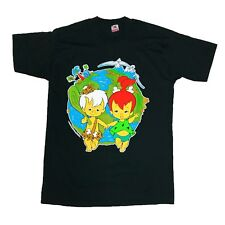 Vtg 1995 Rare The Flintstones Pebbles And Bam bam T Shirt. Mens Large.