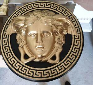 Deko XL Relief Medusa Kopf Wandrelief Antik Look 46cm