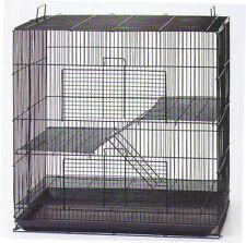 3 Level Black Chinchilla Guinea Pig Small Animal Rat Mice Cage #K701H Cage 166