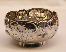 MAGNIFICENT 1900 FRENCH STERLING SILVER BOWL, MUST SEE .