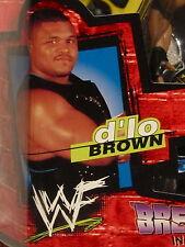 "D'Lo BROWN wwf JAKKS KING of the RING Break Down in your House-6"" figure MOC"