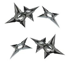 Ninja Throwing  Multi Chinese Star Decal Sticker