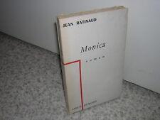 1957.Monica / Jean Ratinaud.ex.du SP.envoi autographe.non coupé