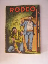 BD rodeo n°321 de 1978
