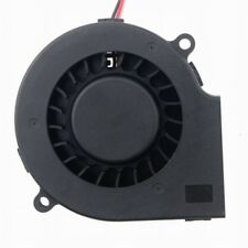 DC Turbo Blower Centrifugal Cooling Fan 75mm 12V 75x75x15mm Big Airflow 2pin